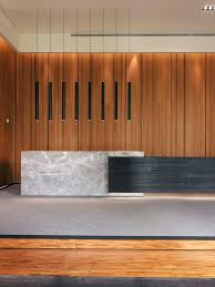 office reception office reception area. reception office desk stone timber screen inspiration see more gallery the realm of confluence caiin interior design 3 area i
