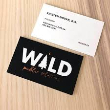Raised Foil Business Cards