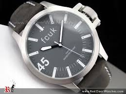 buy french connection gray dial leather strap mens watch fc1140b french connection gray dial leather strap mens watch fc1140b