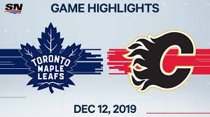 Follow me on twitter @toddcordell five things to watch when the calgary flames take on the toronto maple leafs: Nhl Highlights Maple Leafs Vs Flames Dec 12 2019 Youtube