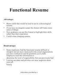 How To Do A Functional Resume Functional Resume Formats Takethemic