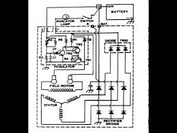 alternator wiring diagram youtube 12v Bosch Regulator Wiring Diagram alternator wiring diagram Basic 12 Volt Wiring Diagrams
