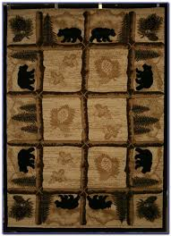 round cabin area rugs rugs home design ideas log cabin style rugs