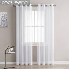 white sheer panels. Fine Panels Modern Plain White Sheer Curtains Kitchen Voile Tulle For Living  Room Bedroom Door Window Custom For Panels