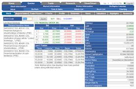 Quotes Charts Trade History Settings App Col Financial Philippines