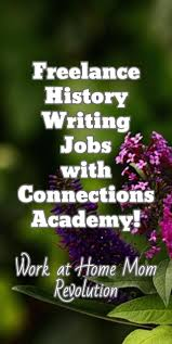 work at home history writing jobs connections academy