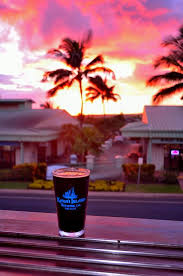 View Of A Beautiful Sunset From Kauai Island Brewing Company
