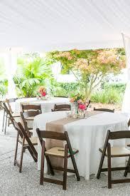 Burlap Round Table Overlays San Luis Obispo Wedding By Jen Rodriguez Photography Events