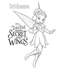 Kids N Fun Kleurplaat Tinkelbel Secret Of The Wings Tinkerbell