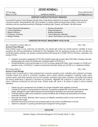 Interesting Construction Business Manager Resume Resume Writing And