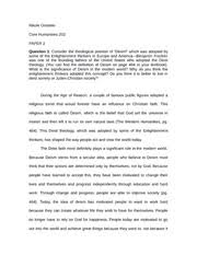 essay on a doll s house the symbolism behind clothing in a dolls  4 pages essay on deism