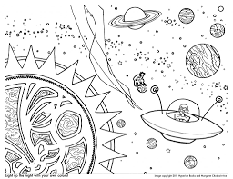 Planet Coloring Pages With The 9 Planets | paginone.biz