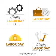 Labor Day Free Online Cute Labor Day Badges Vector Free Download