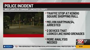 Police Find Possible Grenades During Traffic Stop Abc27