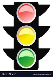 Graphic Traffic Light Isolated Traffic Light Design Icon