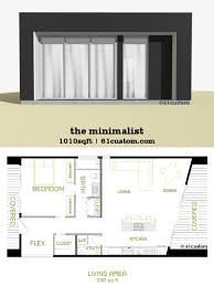 the minimalist small modern house plan 61custom