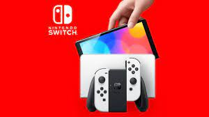 New Nintendo Switch OLED gaming console ...