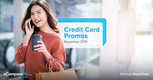 Get your items right away! The Best November Credit Card Promos For 2019