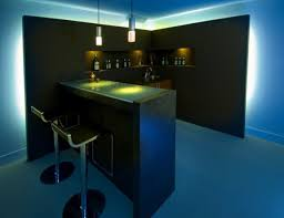 home bar lighting. Fluorescent Lighting Home Bar