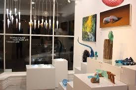 a selection of works at black door gallery