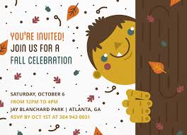 Fall Party Invite By Postable Postable