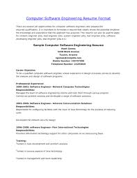 Computer Engineer Resumes Software Engineering Resume Objective Resume Templates