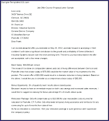 Counter Offer Job Letter Samples Salary Negotiation Examples