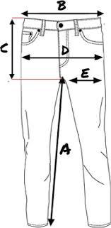 Hidden Jeans Size Chart Size Chart Revolutionrace