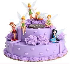 Princess Cake Topper 6 Pcsset 3 Inch Boneka Terbang Tinkerbell Peri