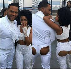 Image result for anthony anderson at bet prince tribute 2017