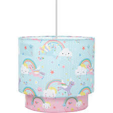 Unicorns Rainbows Ceiling Shade Home George