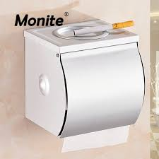 Bathroom Paper Awesome Aluminum Bathroom Accessories Wall Mounted Paper Box Roll Holder
