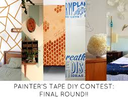 Small Picture Painters Tape DIY Contest Final Round of Voting DesignSponge
