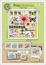 So 3146 Four Seasons Spring Cross Stitch Chart