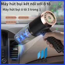Máy hút bụi mini cầm tay ướt và khô nhỏ gọn KOSKO trong oto xe hơi ô tô cắm  điện tẩu k không dây gia đình sạc pin USB - Máy hút