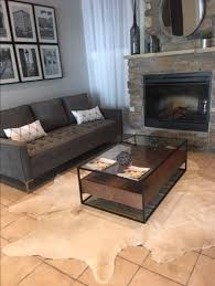 white cowhide rugs in canada