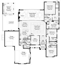 open house plans. Exellent Open Single Story 3 Bedroom Bath House Plans Open Floor For  Mediterranean Modern Homes 3394 Sq For