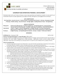 Leadership Resume Example Team Leader Resume Leadership Resume