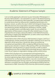 Statement Of Purpose Graduate School Example Pin By Sample Statement Of Purpose On Academic Statement Of