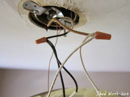 how to wire a ceiling light black wire white wire ground