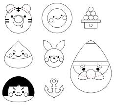 Adchiakiワクワクかわいいキャラクターお弁当掲載用イラスト