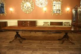 12 Foot Dining Table Seats 14 People, Shown In Walnut Finish Maybe Our Next  House Will Be Big Enough For This Table!