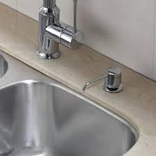 kitchen kitchen soap dispenser bottle chrome soap dispenser pump rh homecabinet info