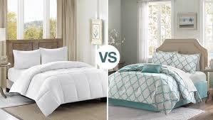 difference between duvet vs comforter with duvet cover vs comforter