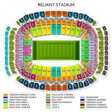 Nrg Rodeo Seating Chart Nrg Stadium Tickets