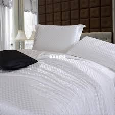 incredible pure white bedding setsbrief solid color silk satin bed in a bag white bedding sets queen ideas