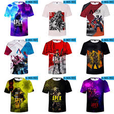 2019 3d Apex Legends T Shirts Tracksuit Fitness Adult Apex Legends Hiphop Funny Mens T Shirt Hot Game Cosplay Clothes From Chinesefactory10 6 44