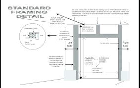 standard width of a door single garage door size standard single garage door width standard front