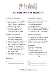 Business Startup Checklist Free Printable Business Startup Checklist 3