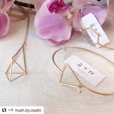 fab accessories inc on twitter hush toronto rosegold bracelet bangle necklace geometric style fashion design jjrr fab fabaccessories repost